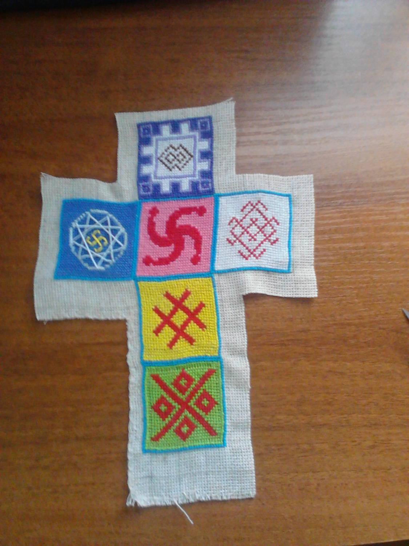Символы и приметы в вышивке крестом - Мегавышивка 3