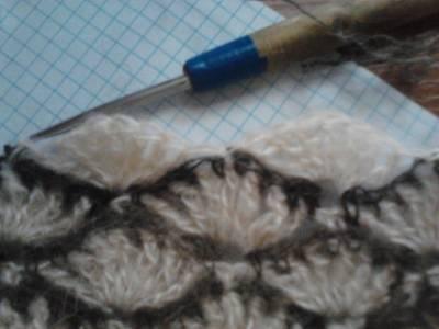 Снуд - палантин из собачьей шерсти